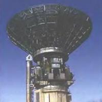 Радиотелескоп антенна в Калязине - Россия