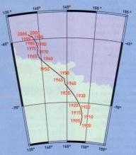 Положение Южного полюса