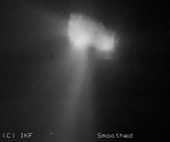 частини комети на фото