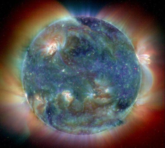 Активное Солнце