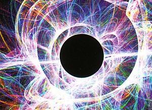 Преломление луча лазера