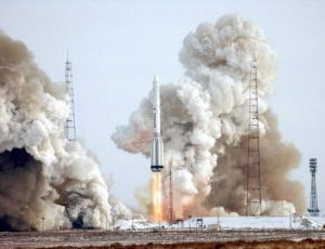 Огненный старт ракеты