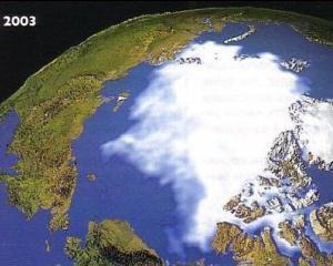 Уменьшение льда на Земле