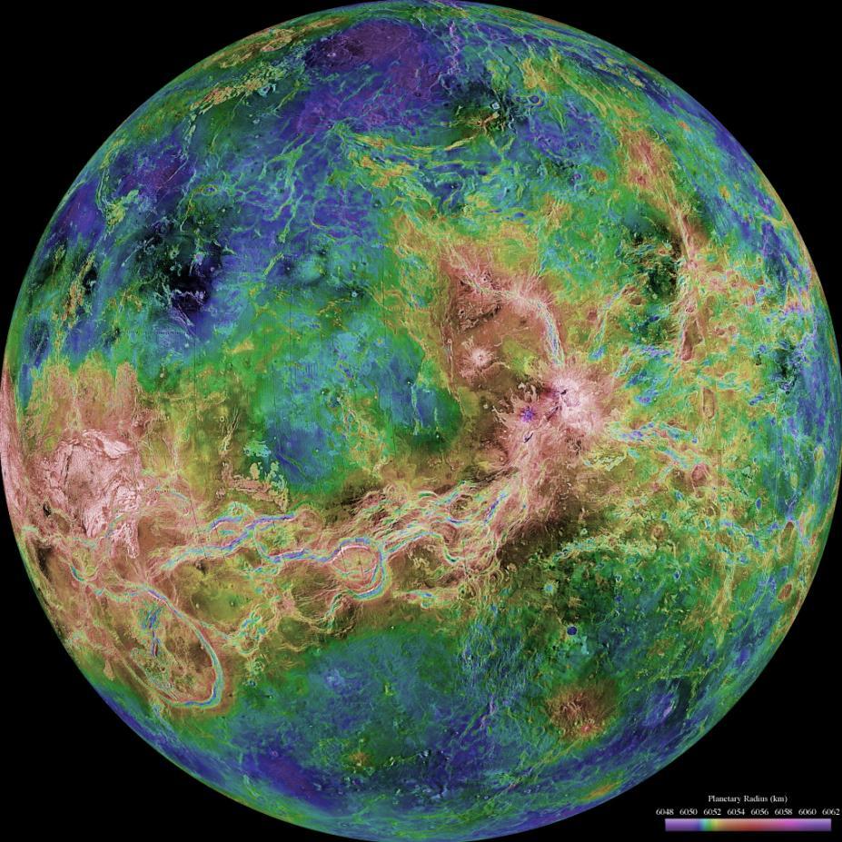 Строение планеты Венера